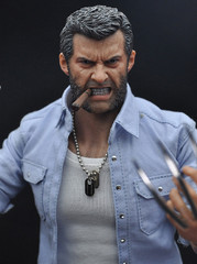 Burning Soul 1/6 Scale Angry Hugh Action Figure Set