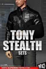 SUPERMCTOYS F-066 1/6  Scale Tony Stealth Suit Costume Set