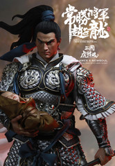 INFLAMES X NEWSOUL  1/6  Sets Of Soul Of Tiger Generals -Zhao Zilong 赵子龙 Collectible Figure