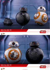 Hot Toys MMS442 Star Wars: The Last Jedi 1/6th scale BB-8 & BB-9E Collectible Set