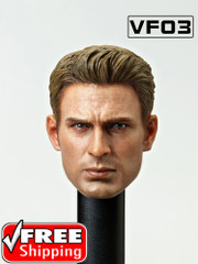 VFTOYS VF03  1/6 scale captain head sculpt