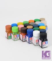 Tamiya Model Color Enamel Paint 10ml X-1 - X-34 80001 - 80034 Gloss series
