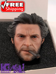 Eleven 1/6 X Figure Head Sculpt with Cigar