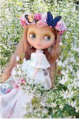 "Takara CWC Exclusive 16th Anniversary Neo Blythe Garden of Joy 12"" Doll"