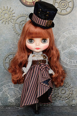 "Hasbro NEW 12"" NEO Limited Blythe Doll Shelley Sherry Victorian"