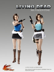 Hot Heart Ms.Valentine FD005 1/6 scale Head Sculpt and Costume