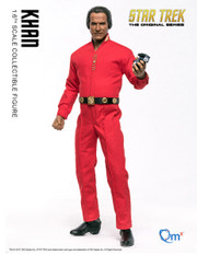 QMX 1/6 Star Trek Khan Noonien Singh Action Figure  Star Trek™: The Original Series (TOS)