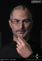 Damtoys 1/6 Steve Jobs Legendary Inventor DMS004 © 2017 Sidney Maurer Homage Artwork
