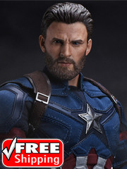 ZCTOYS T-05 Captain 1/6 Scale Head Sculpt