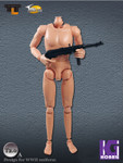 "Toys City TTL 1/6 Scale 12"" Male Nude figure Body T2.0 Light skin tone"