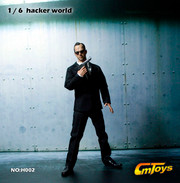 CMTOYS-HACKER WORLD 1/6 Matrix Agent Smith Figure Head Sculpt and Outfits