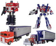 Takara Transformers Chronicle CH01 OPTIMUS PRIME CONVOY G1+Movie SET
