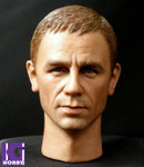 ROADSHOW 1/6 Action Figure Head Sculpt-Daniel Craig James Bond