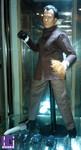 Custom 1/6 Mr. Han figure Figure Outfits: Shih Kien in Enter the Dragon