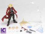 Kaiyodo Revoltech Yamaguchi #116 Edward Elric figure from Fullmetal Alchemist