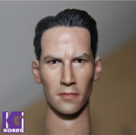 1/6 Action Figure HeadPlay Head Sculpt -Keanu Reeves as NEO MATRIX