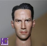 1/6 Action Figure HeadPlay Head Sculpt -Keanu Reeves as NEO MATRIX