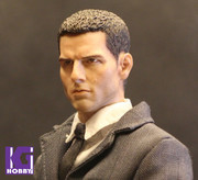Eleven 1/6 Action Figure Head Sculpt-Custom Tom Cruise