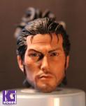 1/6 Action Figure Head Sculpt -Japanese Samurai Miyamoto Musashi 宮本武蔵 ver 1