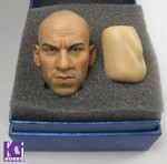 Custom CIAN 1/6 Action Figure Head Sculpt-Vin Diesel