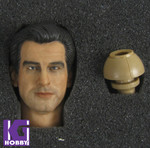 1/6 Action Figure HeadPlay Head Sculpt -Pierce Brosnan 007 James Bond