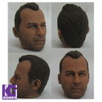 Custom Made 1/6 figure Head Sculpt-Bruce Willis from Die Hard