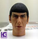 Custom Made 1/6 figure Head Sculpt-SPOCK from  Star Trek