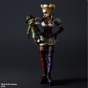 Square Enix Batman Arkham Asylum: Play Arts Kai: Harley Quinn Action Figure