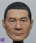 1/6 Action Figure HeadPlay Head Sculpt-Takeshi Kitano 北野 武 Black Hair version