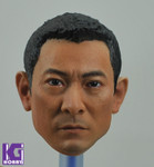 1/6 Action Figure Head Sculpt -Custom Asian Andy Lau