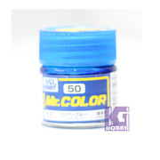 Mr Hobby Mr. Color GUNZE MODEL COLOR PAINT 10ml 50 Gloss Clear Blue