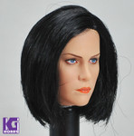 Custom 1/6  Female/Girl Action Figure Head Sculpt-Kate Beckinsale Underworld
