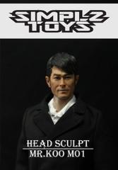 SIMPLZ TOYZ 1/6 Figure Head Sculpt-MR.KOO M01 Louis Koo Tin-lok