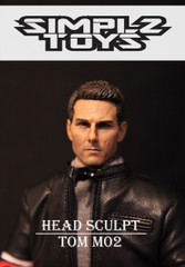 SIMPLZ TOYZ 1/6 Figure Head Sculpt-TOM M02 Tom Cruise