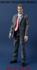 "Brother Production 1/6 Scale Grey Suit Set - 'Men in Suit"" Part 2"