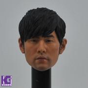 1/6 Jay Chou  Action Figure Head Sculpt