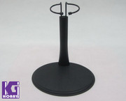 Black Metal C Shape Stand for 1/6 action figure