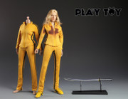 Play toy 1/6 P001 Bride Killer action figure-Custom Kill Bill Uma Thurman