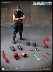 Worldbox 1/6 Mortal Kombat SUB-ZERO action figure