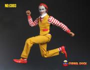 SUPER DUCK C003 1/6 Mr Hamburger uncle,ronald mcdonald clothes set