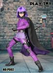 Play toy 1/6 P002  Purple girl action figure-Custom Hit Girl Kick Ass 2