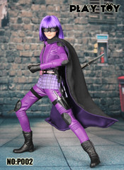 Play toy 1/6 P002  Purple girl action figure-Custom Hit Girl Kick Ass 2