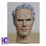 Headplay 1/6 Figure Head Sculpt-Clint Eastwood