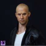 Simplz Toys 1/6 Action figure Head Sculpt-Vin Diesel