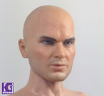 1/6 Custom CIAN Action Figure Head Sculpt-Timothy Olyphant as Agent 47 HITMAN