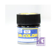Mr Hobby Mr. Color GUNZE MODEL COLOR PAINT 10ml-92 SEMI GLOSS BLACK