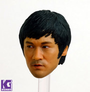 Custom 1/6 Action Figure Head Sculpt-Bruce Lee