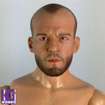 Custom 1/6 Jason Statham Action Figure Head Sculpt