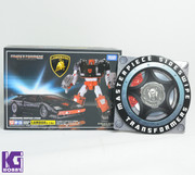Takara Tomy Transformers Masterpiece MP-12G Lambor Black Sideswipe+Limited Coin
