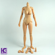 New 1/6 scale female figure body-N004 Caucasian Skin,Normal Breast Version